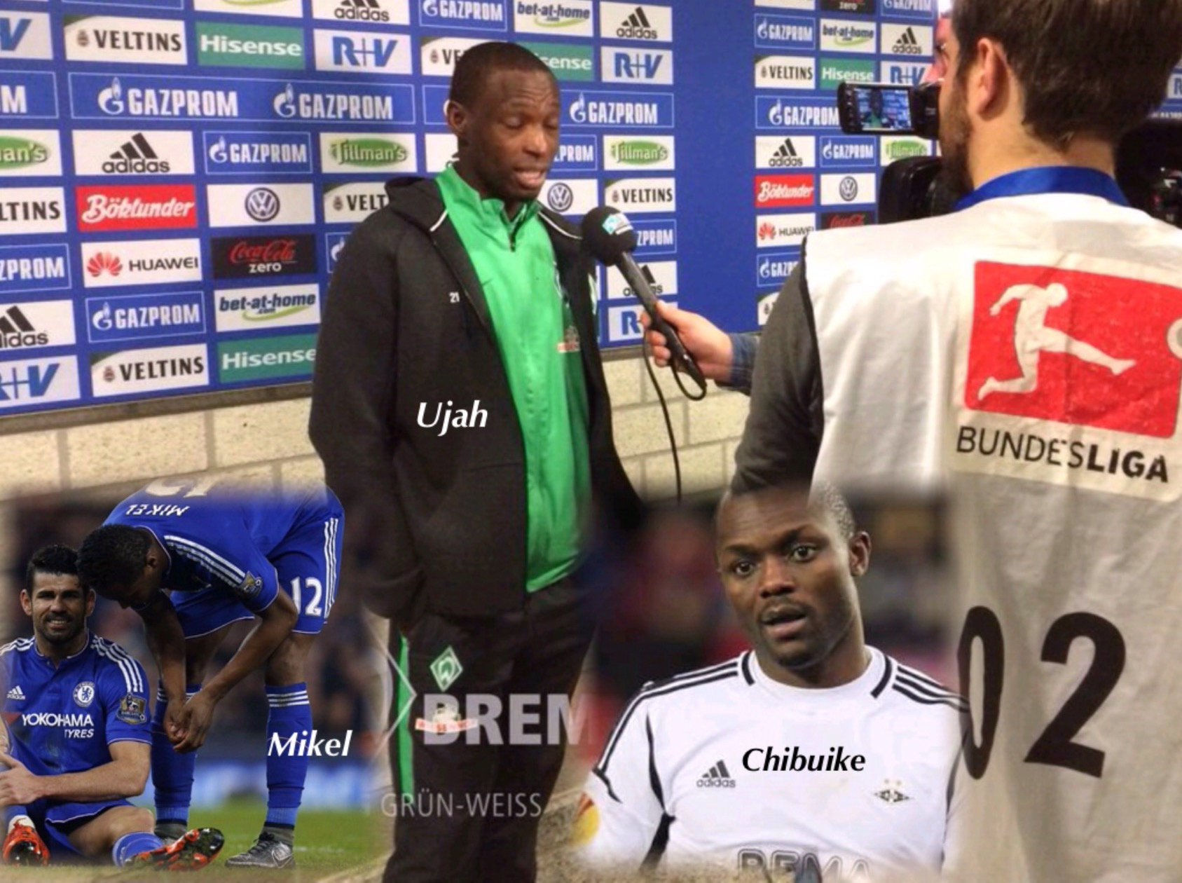 Naija Made! Ujah, Chibuike On Target; Mikel, Oboabona, Simon, In Action