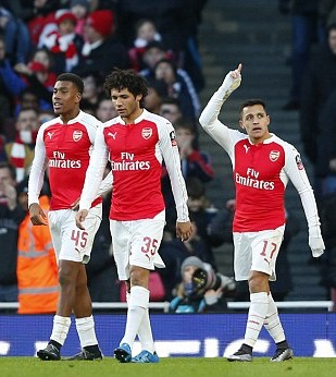 Iwobi Targets First Arsenal Goal