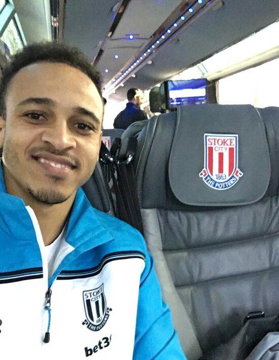 "Odemwingie ""Pleased"" At Stoke After Failed Marseille Bid"