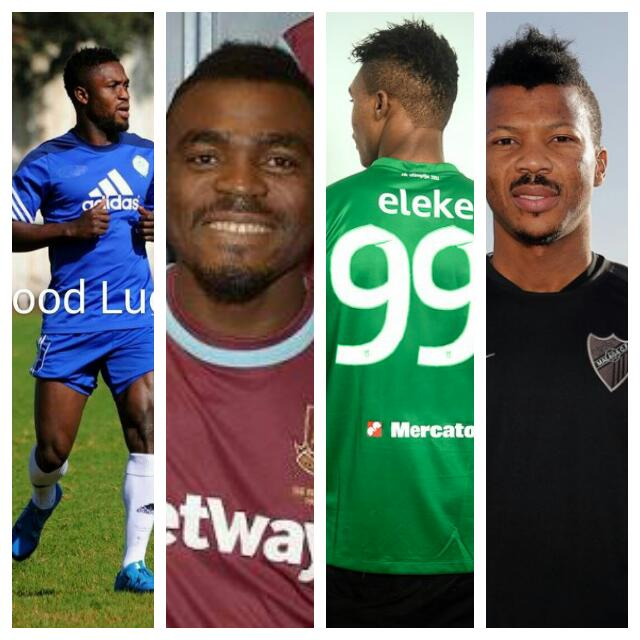 12 Nigerian Players In January Transfer Deals