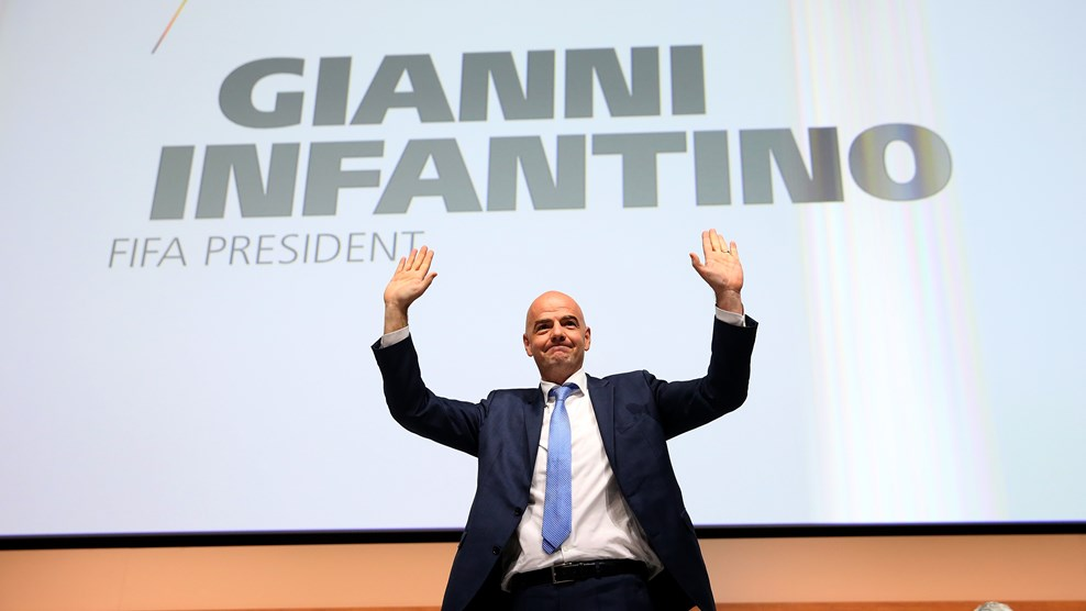 Gianni Infantino Is New FIFA President
