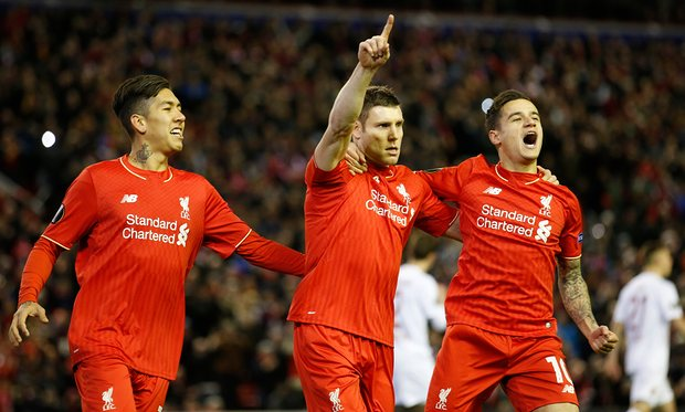 Liverpool Pip Augsburg, March Into Europa League R16