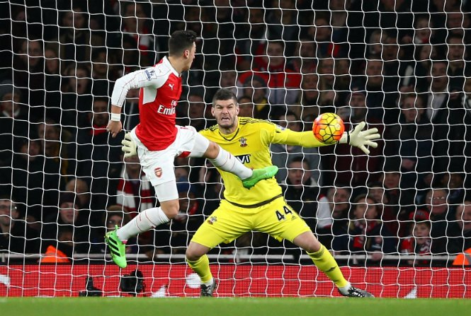 Southampton Frustrate Arsenal At The Emirates