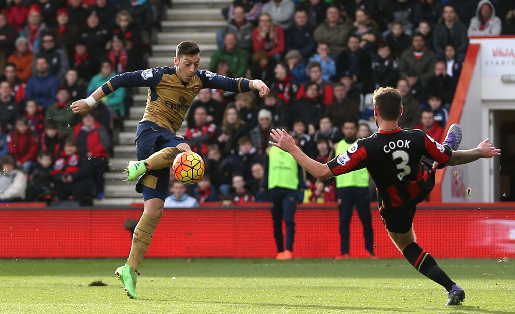 Iwobi Benched As Arsenal Bounce Back With Bournemouth Win