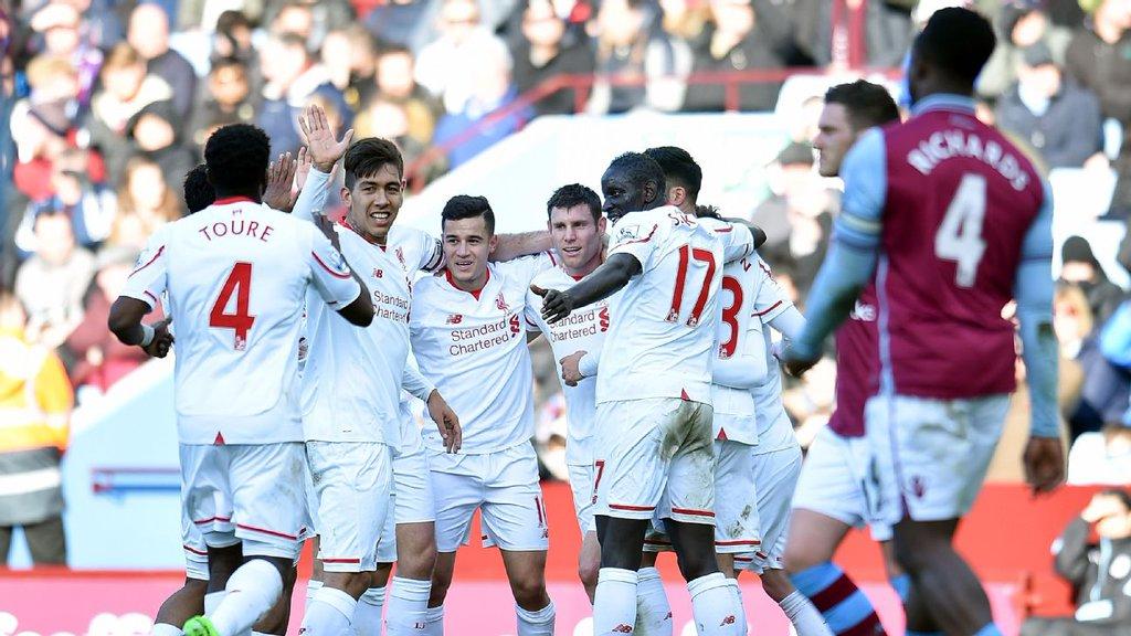 Liverpool Hand Valentine's Day Massacre To Aston Villa