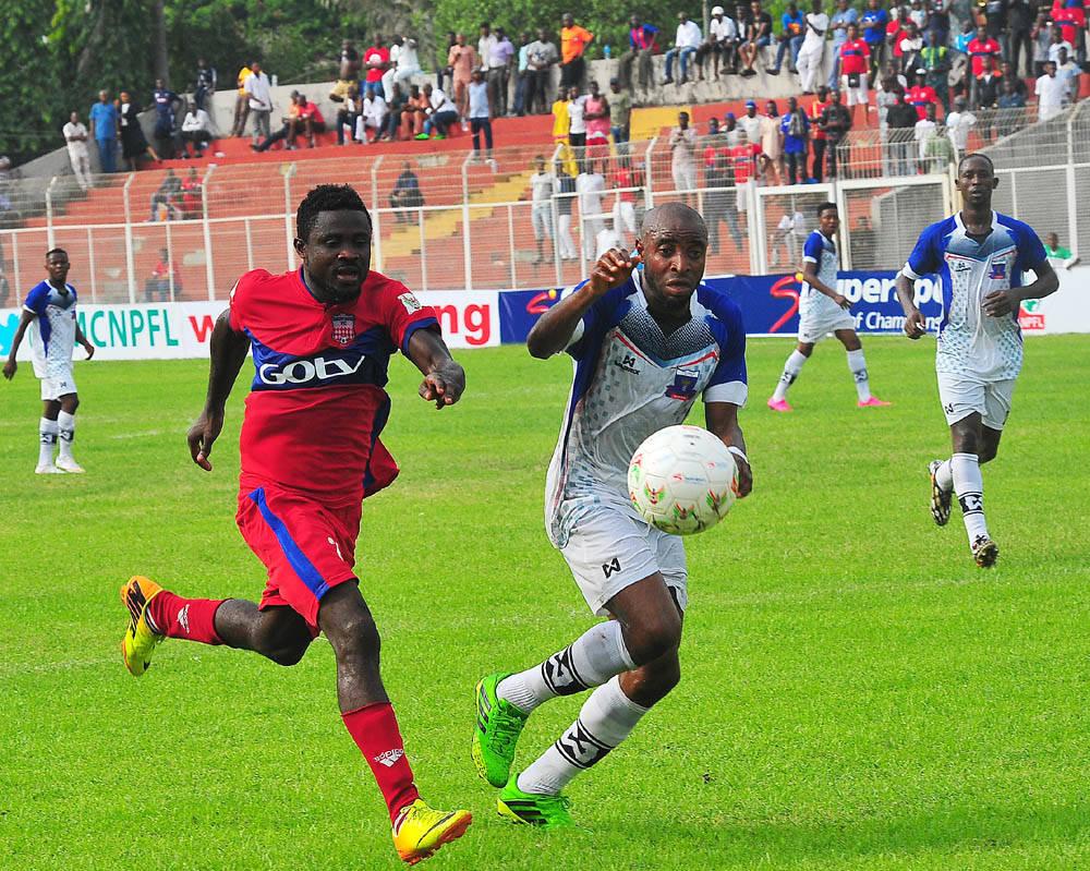NPFL: Pillars, Rivers United, Rangers Win; Abia Shock Heartland