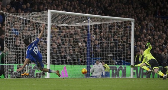 Costa's Last Minute Goal Salvages Chelsea Draw Against Man United