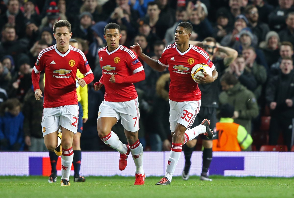 Man United Thrash Midtjylland As Villarreal Edge Napoli