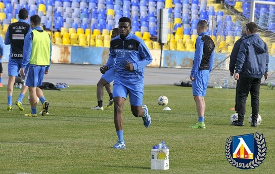 Adeniji Vows To Deliver After Levski Sofia Debut