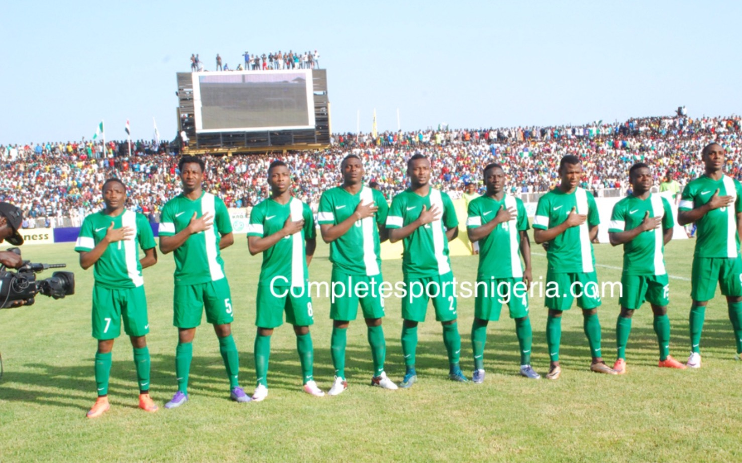 1/7: Super Eagles Have Struggled Vs North Africans Away