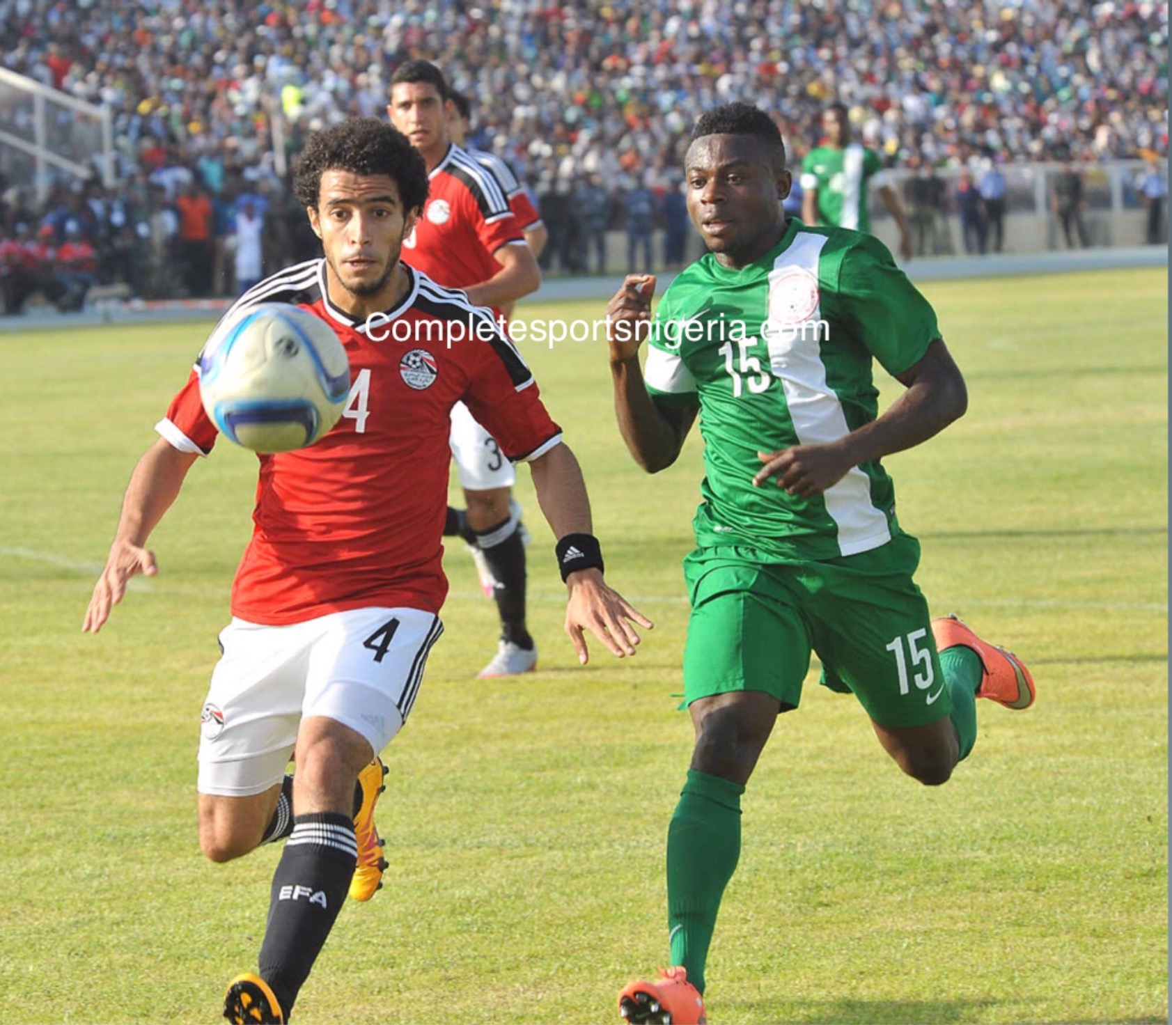 Simon: Super Eagles Will Never Give Up Vs Egypt