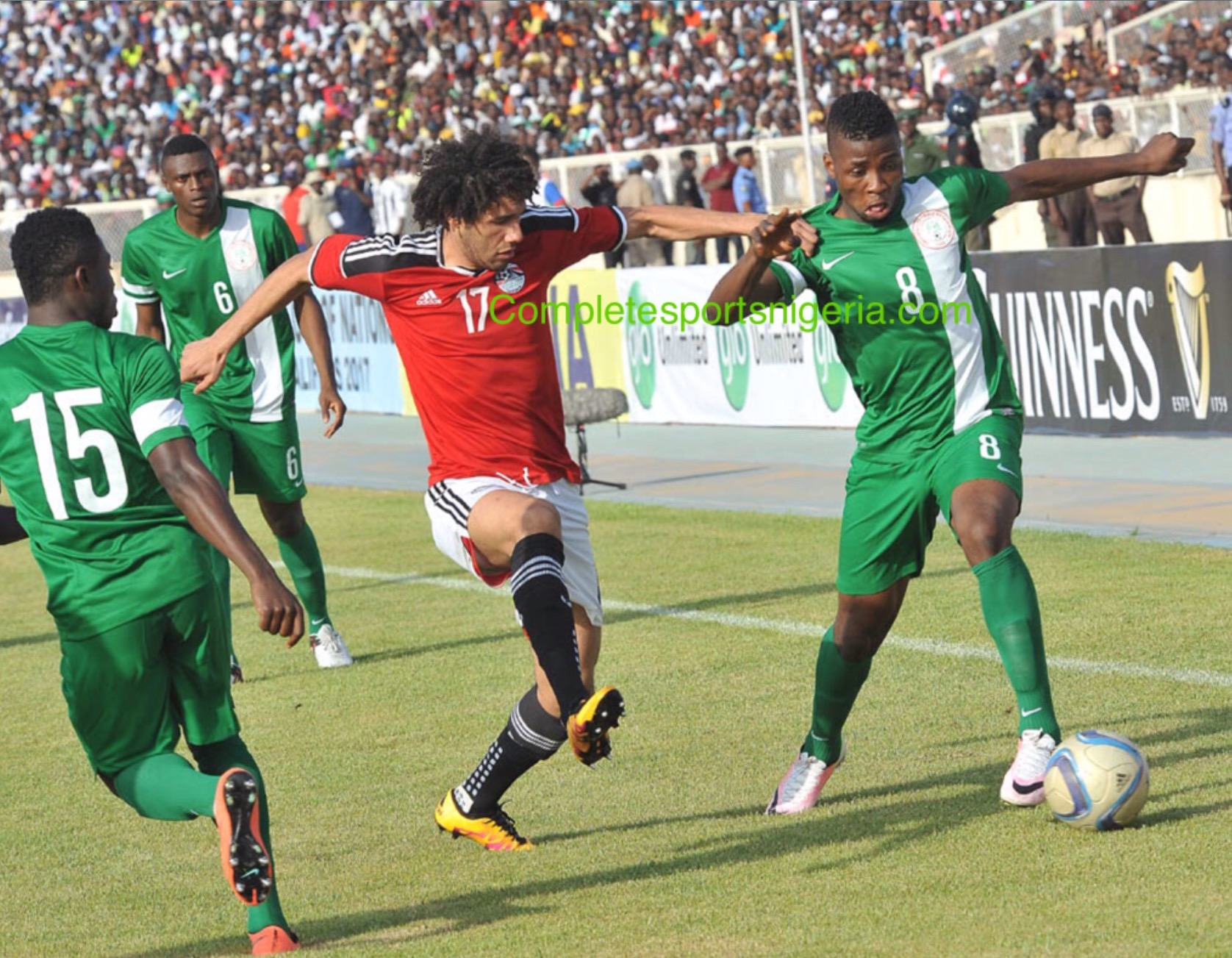 Siasia Drops Iheanacho, Simon; Starts Moses, Umar For Egypt Clash