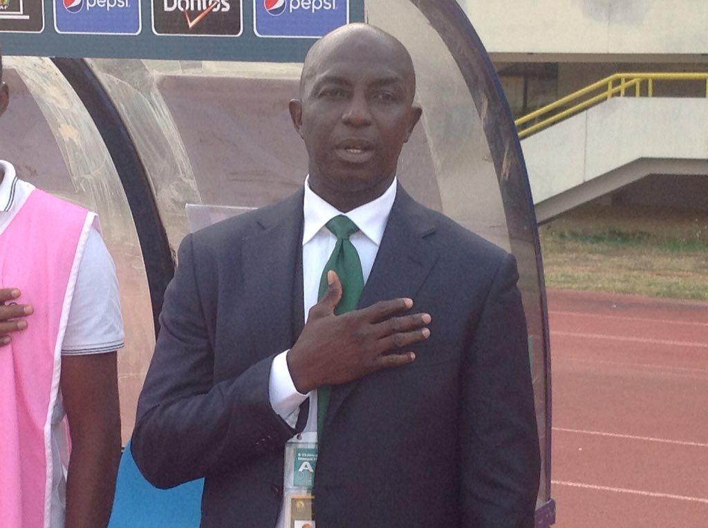 Siasia: We'll Qualify For AFCON, Make Pinnick Forget Foreign Coach