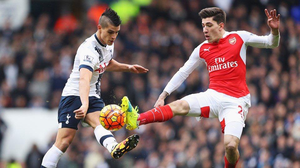 10-Man Arsenal Peg Back Tottenham In Title Race