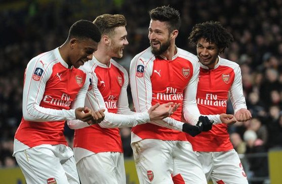 Iwobi Congratulates Giroud As Dad Of New Baby Ends Goal Drought