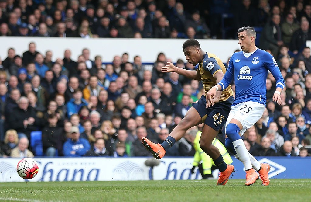Iwobi Scores First EPL Goal, Named MVP As Arsenal Beat Everton
