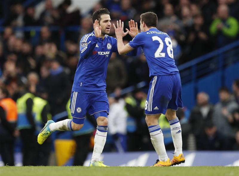 Fabregas Hits Brace As Chelsea Hold West Ham