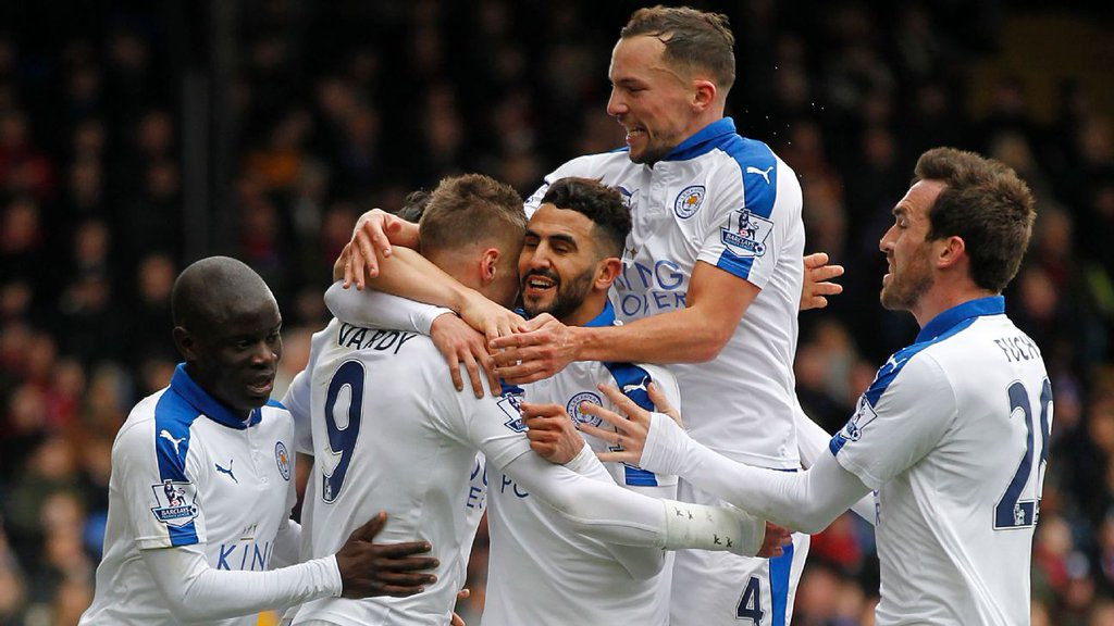 Leicester Edge Palace, Stay Clear On Top; Norwich Pip West Brom