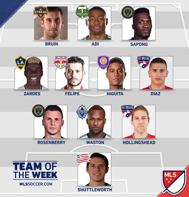 New Super Eagle Adi Named In MLS Team Of The Week