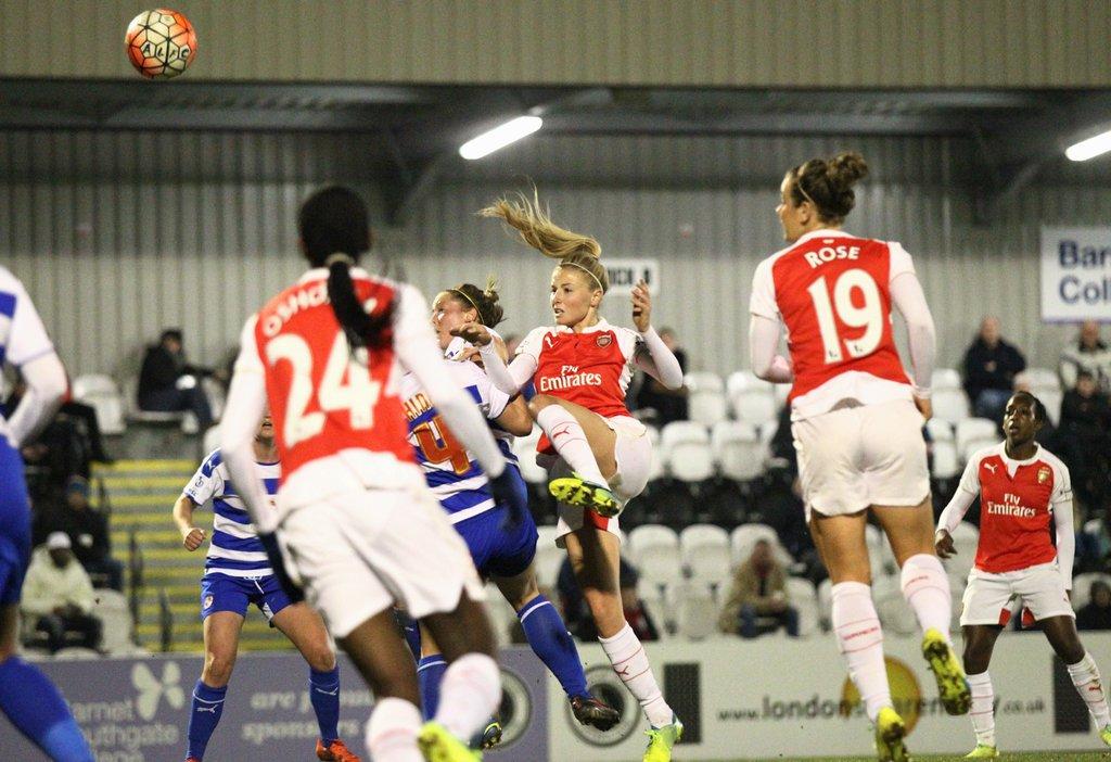 Oshoala Scores On Arsenal Ladies Debut