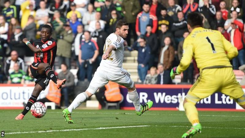 Bournemouth Pip Swansea City In Five Goal Thriller