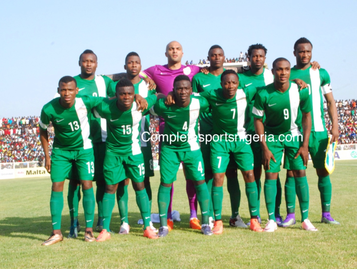 Nigeria Draw Cameroon, Algeria, Zambia In World Cup Qualifiers