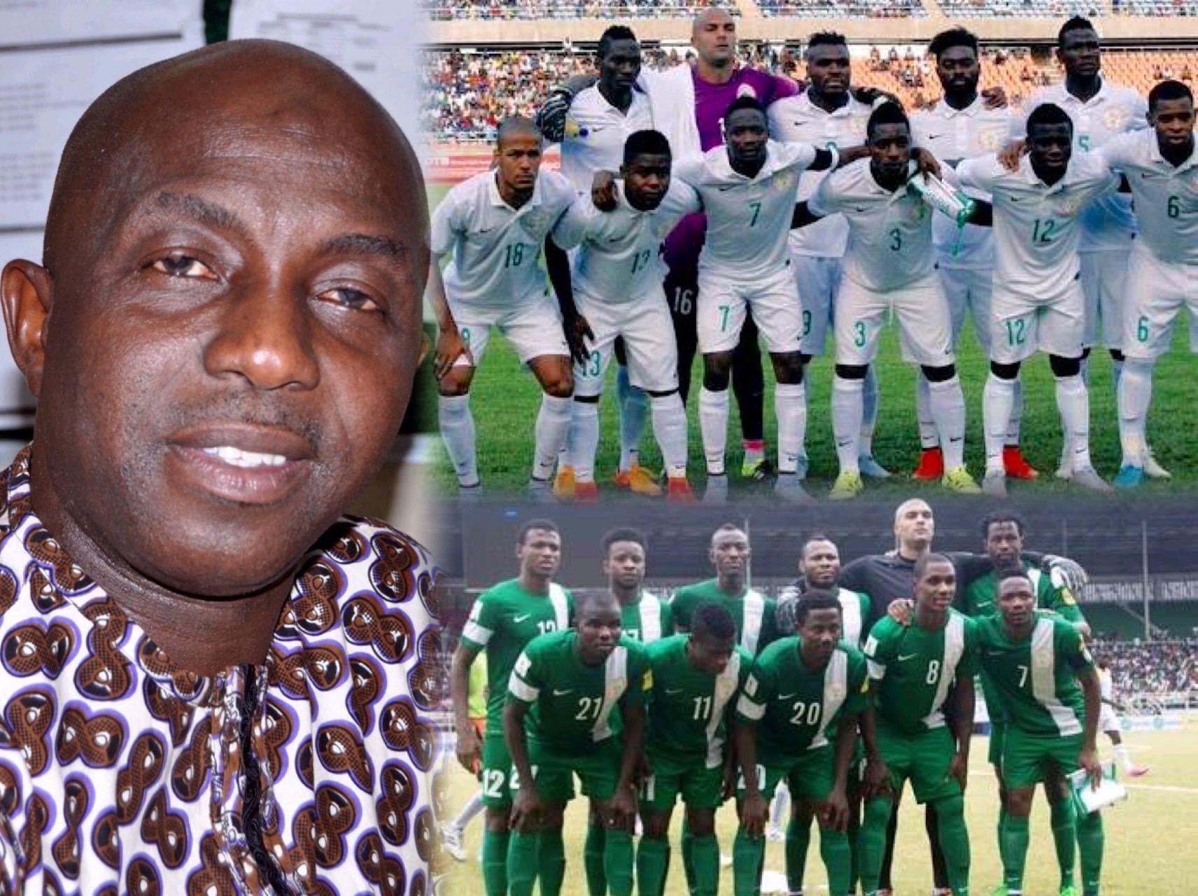 Siasia Expects Eagles To Replicate Top Club Forms And Thrash Egypt