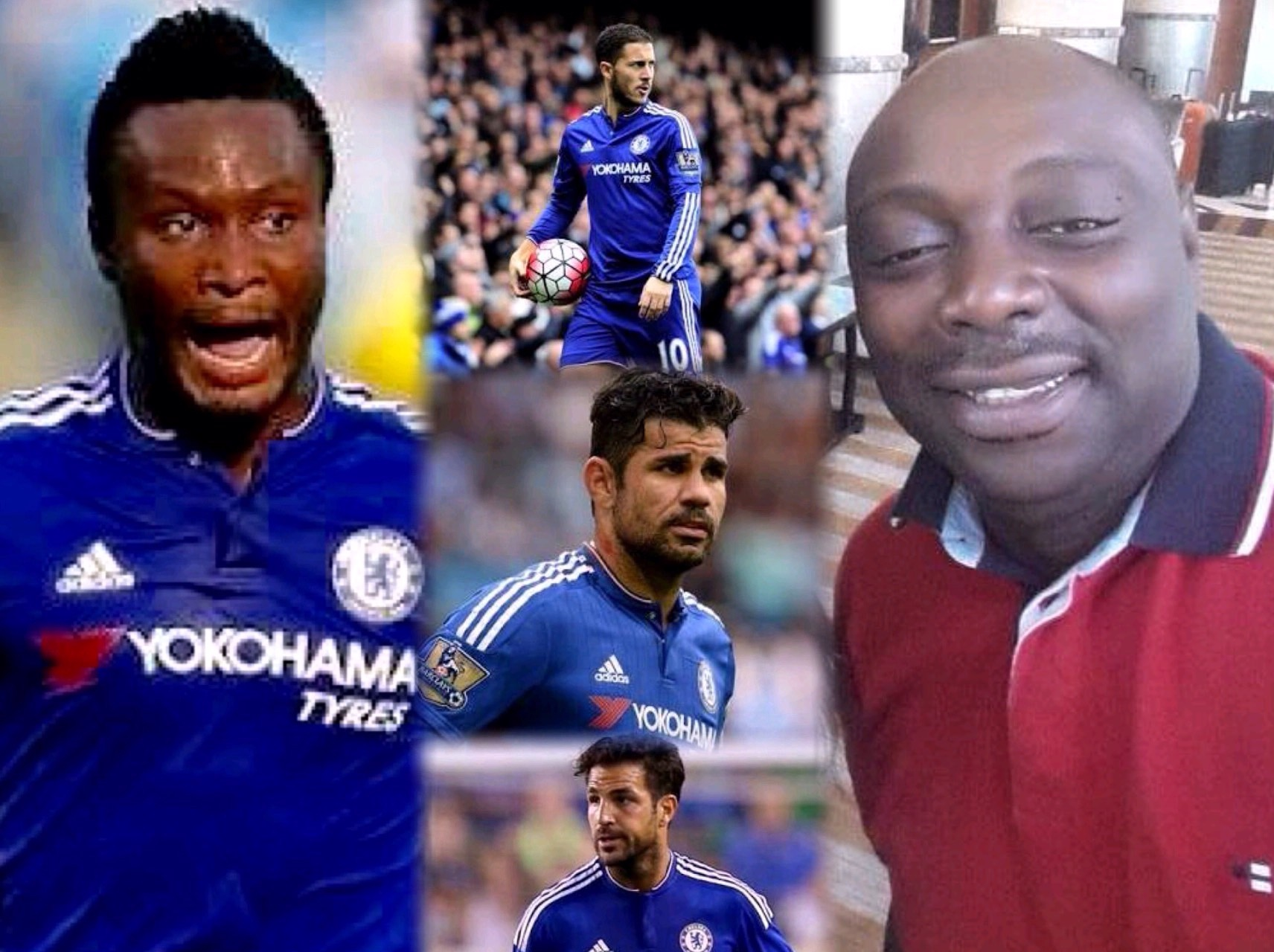 Segun Arinze Thumbs Up Mikel; Backs Hazard, Costa, Fabregas For Chelsea Stay