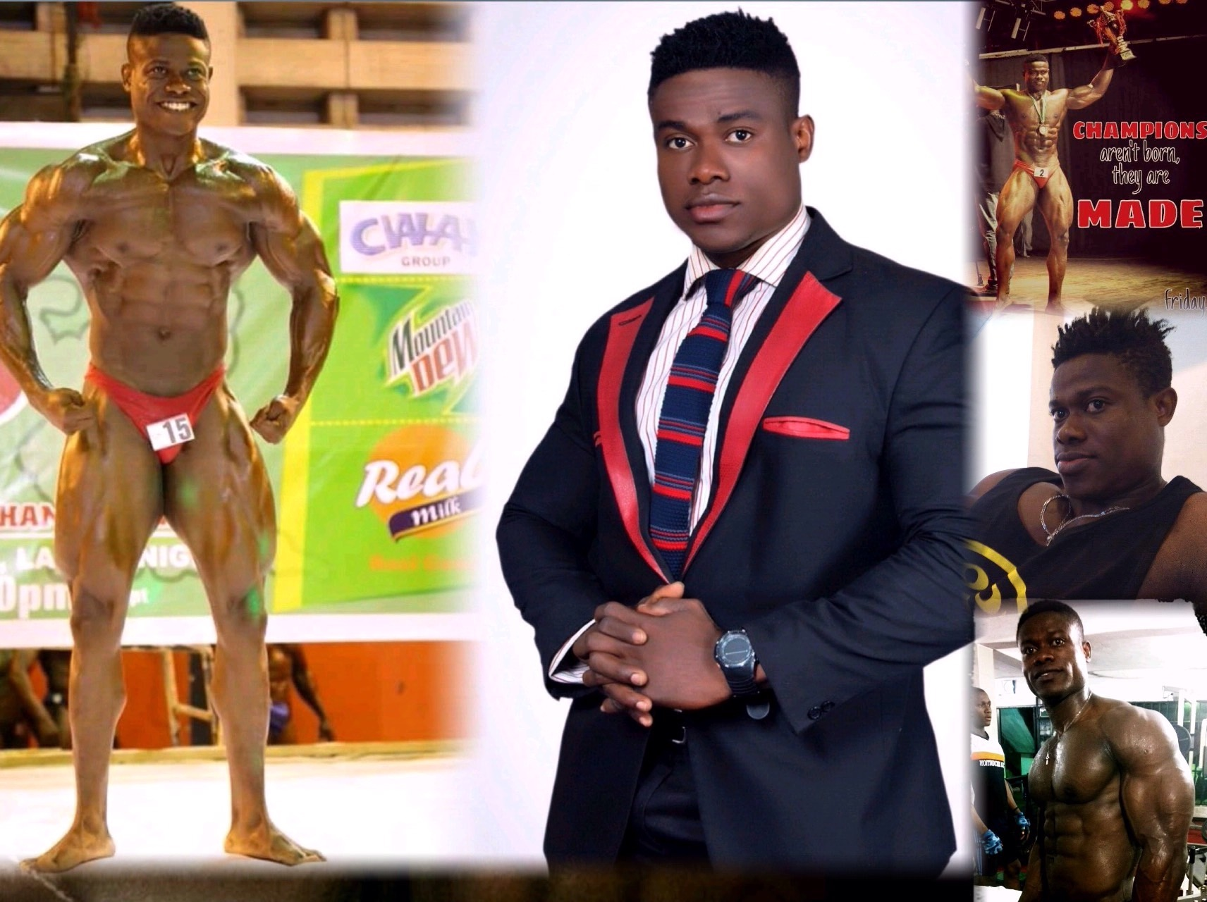 Nigeria Champion, Ifesinachi Ibenne: Bodybuilding Transformed Me, My Mom Now Calls Me Five-In-One Son