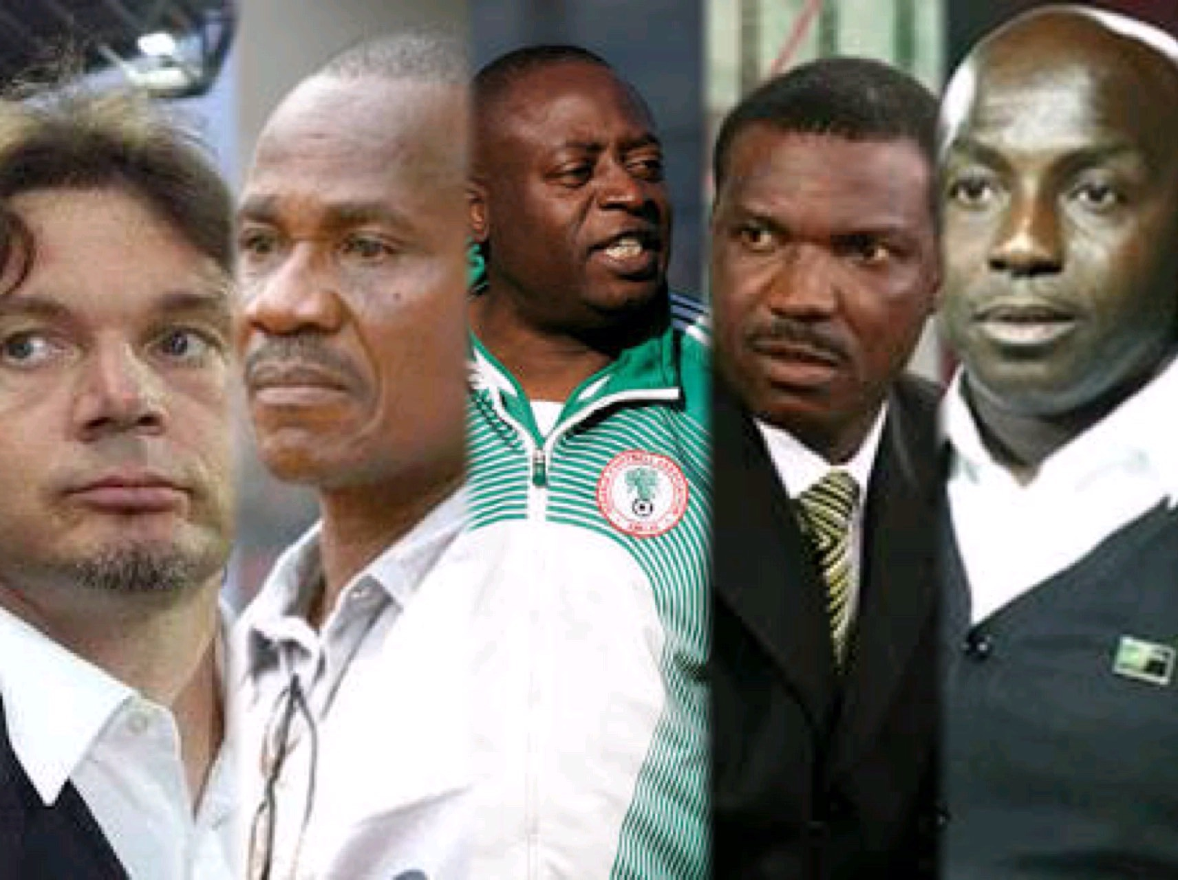 Salvation Army!: 5 Coaches Who Once Took Up Siasia's Kind Of Super Eagles Rescue Job