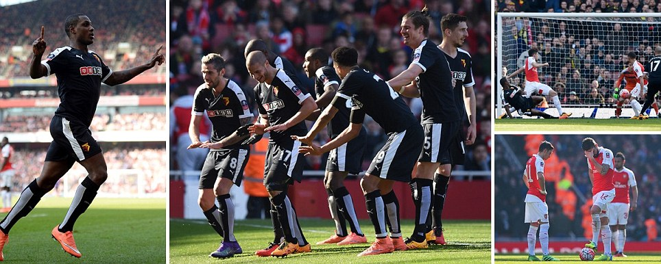 Ighalo On Target As Watford Shoot Arsenal Out Of FA Cup