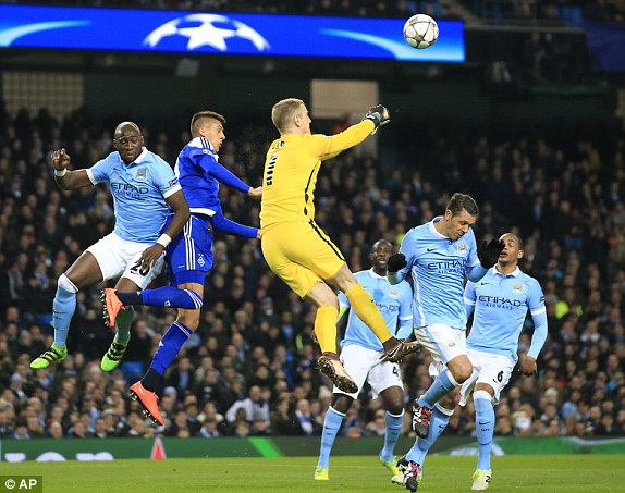 Man City Draw With Kyiv, Qualify For UCL Q/Finals; Iheanacho Missing