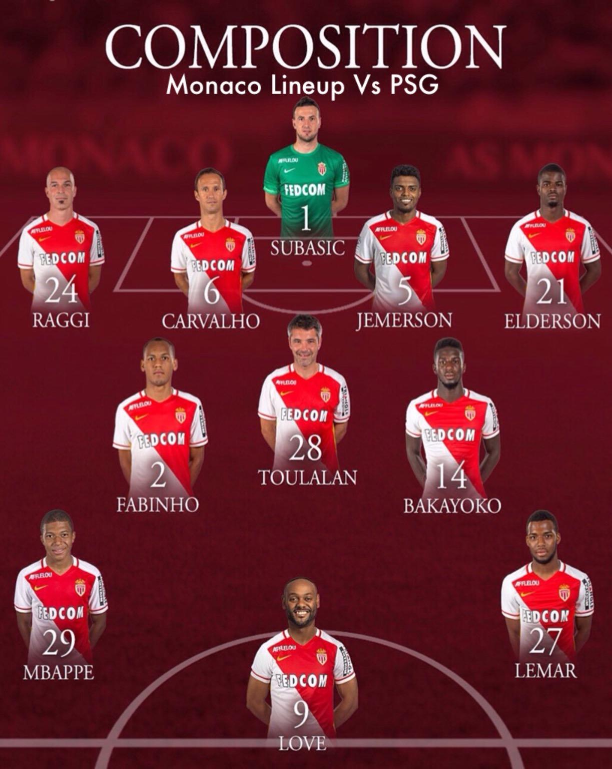 Echiejile Stars In Monaco's Win At PSG; Onazi, Iheanacho, Obi Benched
