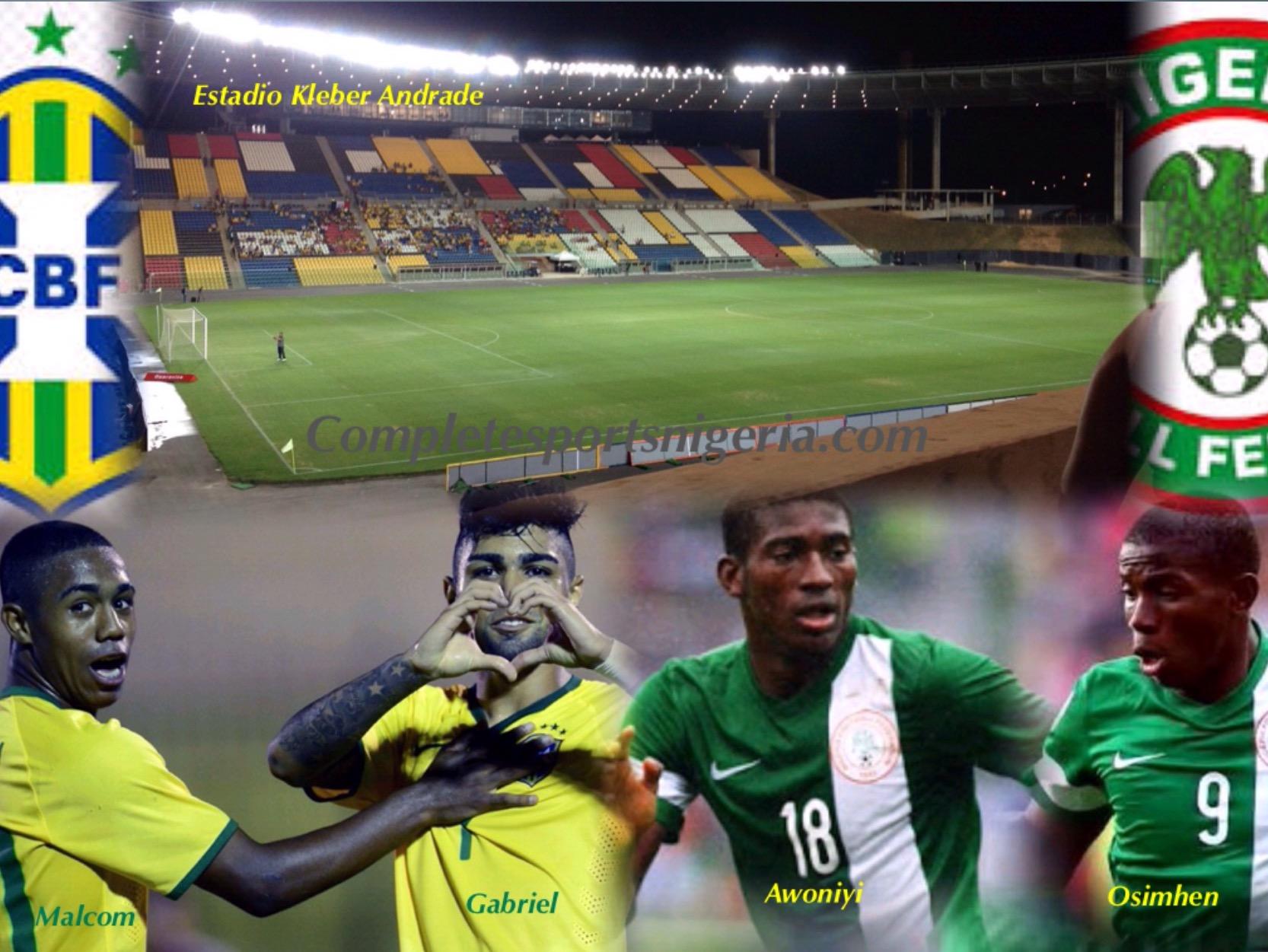 U-23 Eagles Seek 3rd Nigeria Win In 12 Matches Against Brazil