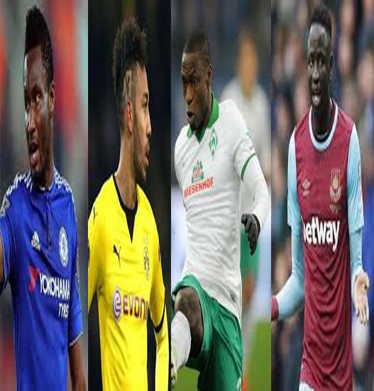 Mikel, Aubameyang, Ujah In African Team Of The Week