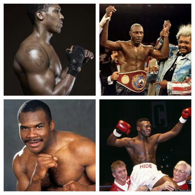 CELEBRATING JOSHUA: Four 'Foreign' Nigerian-Born World Heavyweight Boxing Champions