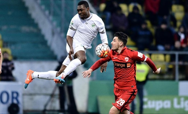 Odibe Relishes First League Goal In Romania