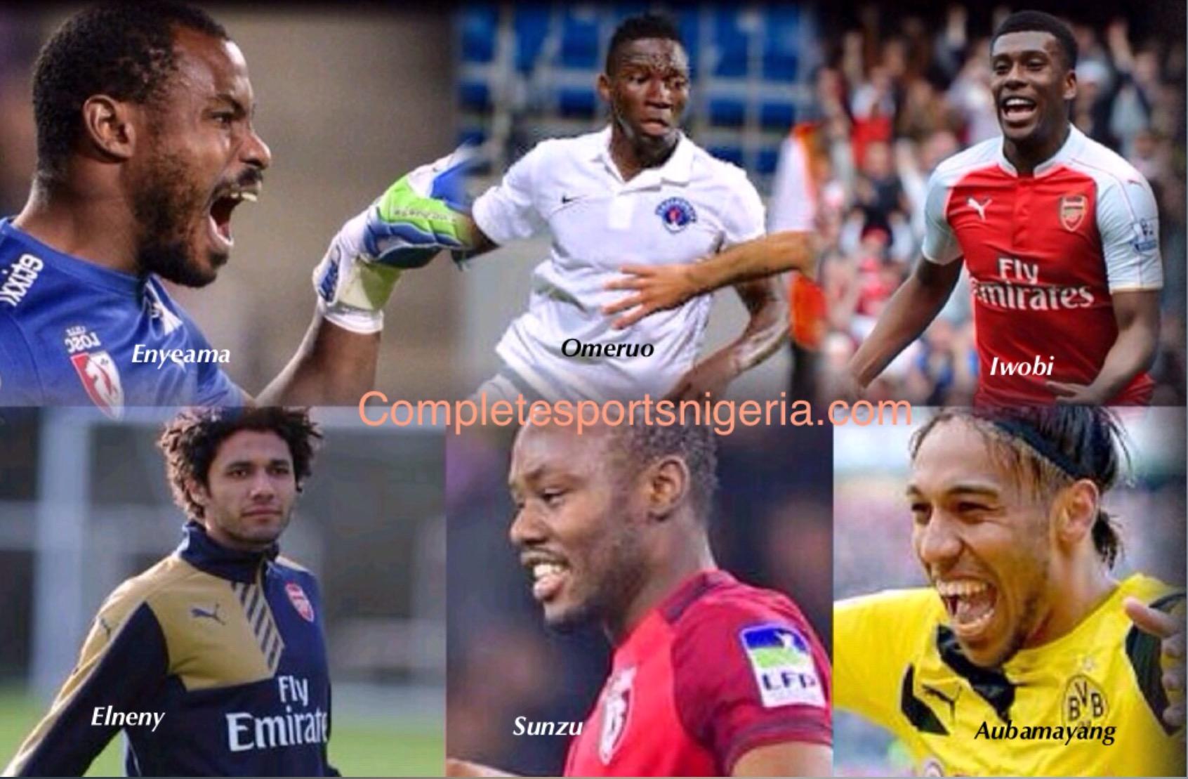 Enyeama, Omeruo, Iwobi Make African Team Of The Week