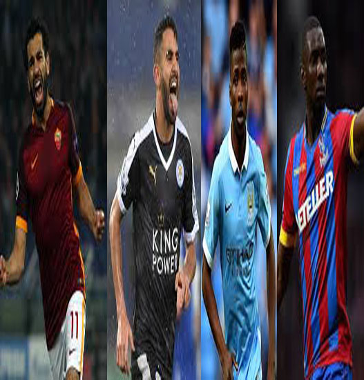 Iheanacho, Mahrez, Bolasie, Salah In African Team Of The Week