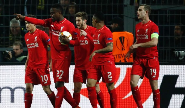 Europa: Liverpool Hold Dortmund As Sevilla, Shakhtar Win Away