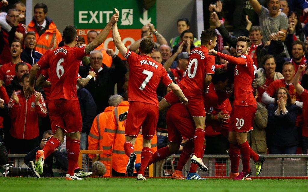 Origi Injured As Liverpool Thrash 10-Man Everton