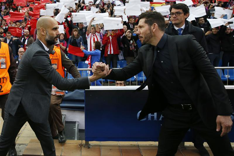 "Guardiola Blames ""Slow Play"" For Bayern Defeat Vs Atletico"