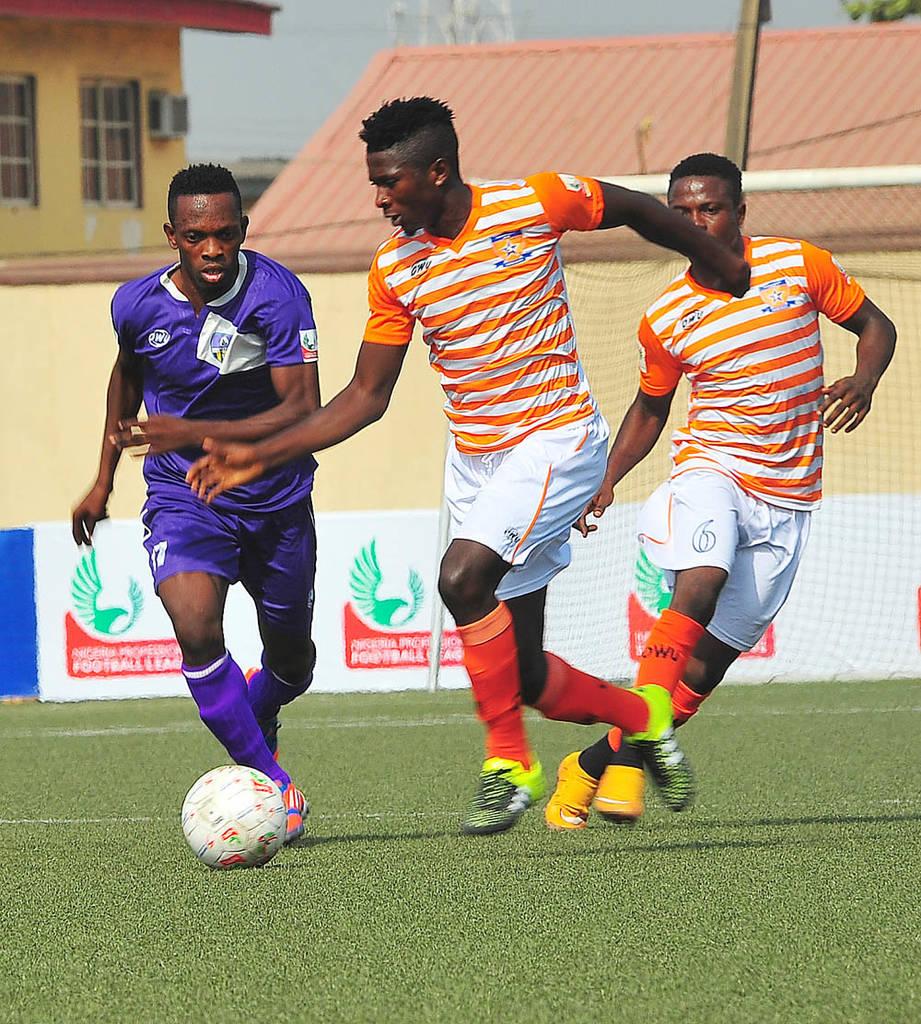 NPFL: Sunshine Pip Enyimba, Nasarawa Down Giwa