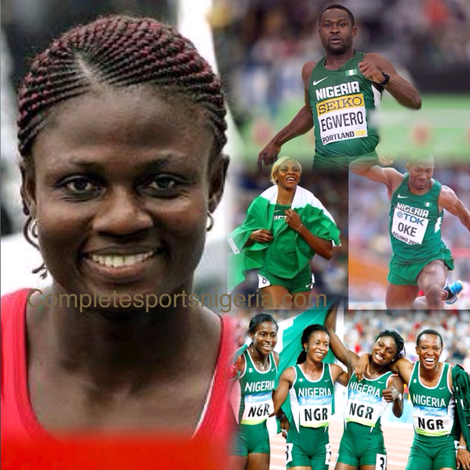 Alozie: Team Nigeria Shouldn't Be Put Under Pressure At Rio Olympics