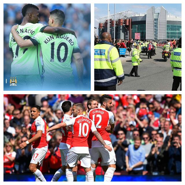 Iheanacho Seals City's UCL Spot, United Match Abandoned After Bomb Scare