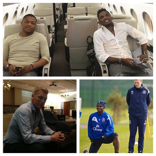 Eto'o, Appiah, Moyes Arrive For Yobo Testimonial