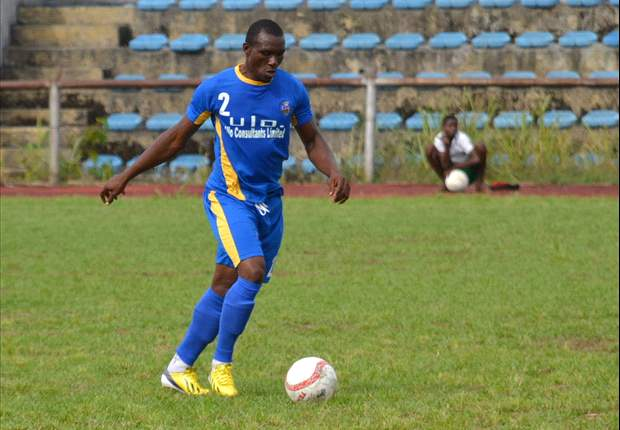 Ike ThankGod Dedicates Enyimba Goal To Wife, Son
