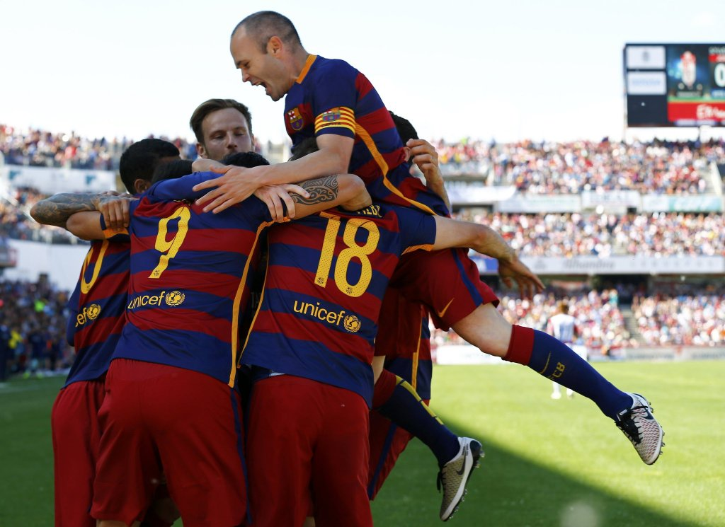CHAMPIONS! Barcelona Win La Liga Title With Granada Win
