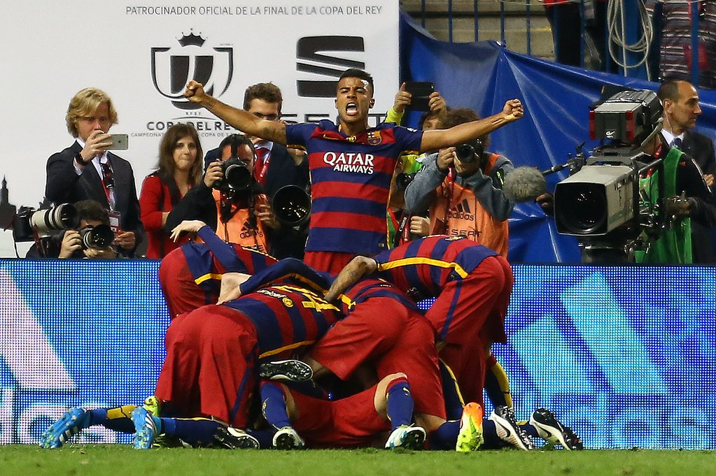 Barcelona Beat Sevilla, Win 28th Copa Del Rey