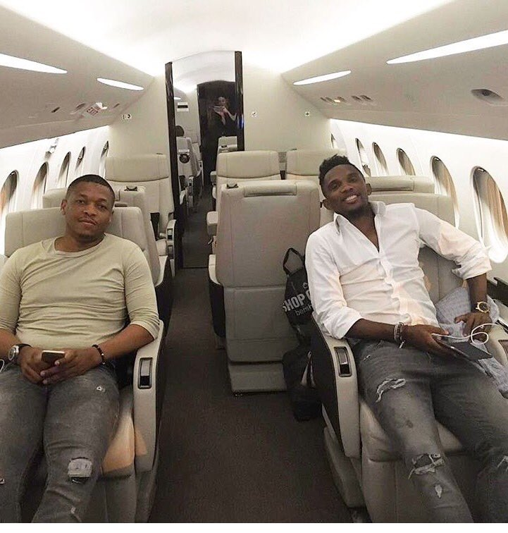 Yobo Testimonial: Eto'o Private Jet's Departure Delayed